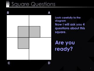 4  Square Questions