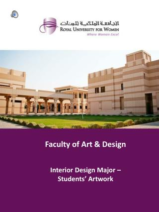 Faculty  of Art & Design