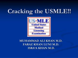 Cracking the USMLE!!