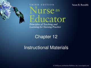 Chapter 12 Instructional Materials