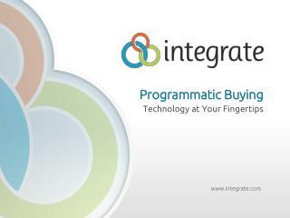 Programmatic Buying