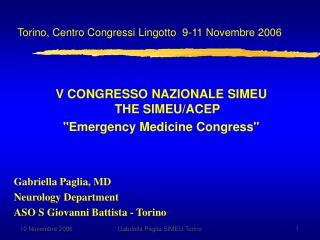 Torino, Centro Congressi Lingotto 9-11 Novembre 2006