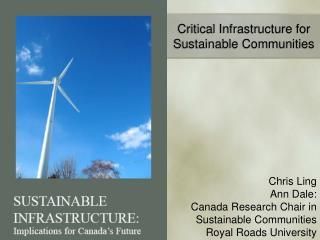 Critical Infrastructure for Sustainable Communities