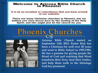 Churches in Phoenix