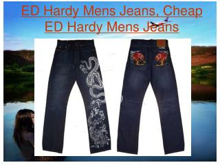 ED Hardy Mens Jeans