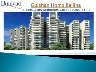 Gulshan Homes Bellina - Affordable township at Greater Noida