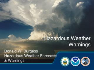 Hazardous Weather Warnings