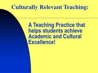 culturally relevant strategies Six strategies for building the strong relationships with students that are the heart of a culturally inclusive classroom community culturally responsive teaching navigating asian and american identities.