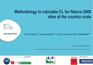Methodology to calculate CL for Natura 2000 sites at the country scale