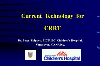 Current  Technology  for  CRRT