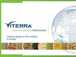Industry Update on Flax markets in Europe