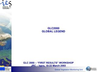GLC2000  GLOBAL LEGEND