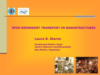 SPIN-DEPENDENT  TRANSPORT IN  NANOSTRUCTURES