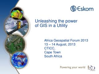 Unleashing the power of GIS in a Utility