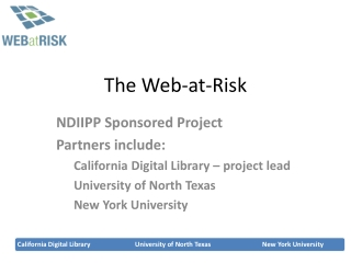 The Web-at-Risk