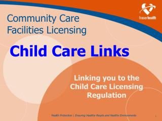 Child Care Links