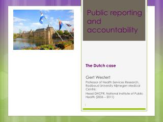 Public reporting and accountability