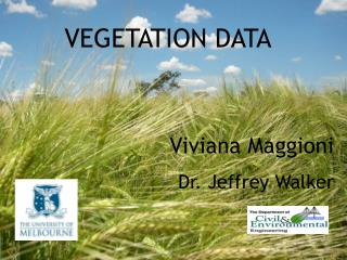 VEGETATION DATA