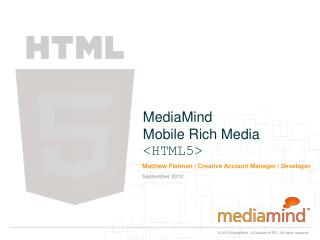 MediaMind Mobile Rich Media  <HTML5>