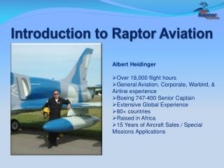 Introduction to Raptor Aviation