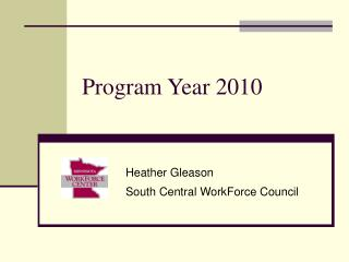 Program Year 2010