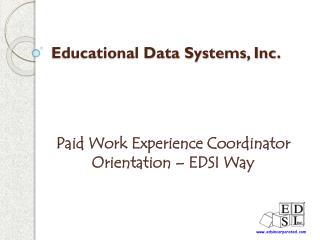 Educational Data Systems, Inc.