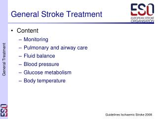General Stroke Treatment