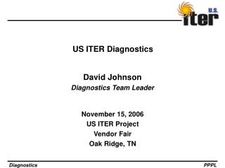 US ITER Diagnostics