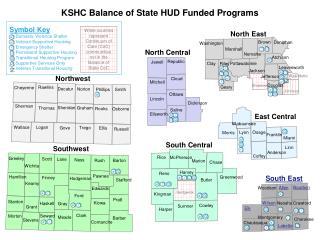 KSHC Balance of State HUD Funded Programs