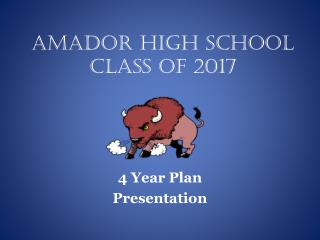 Amador High School Class of 2017