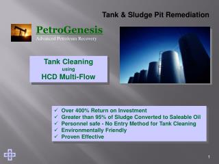 Tank & Sludge Pit Remediation