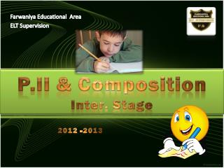 Farwaniya  Educational  Area ELT Supervision