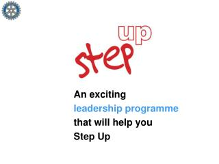 An exciting leadership programme that will help you Step Up