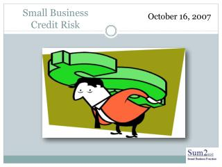 Small Business Credit Risk