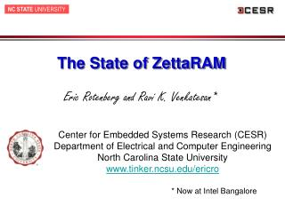 The State of ZettaRAM