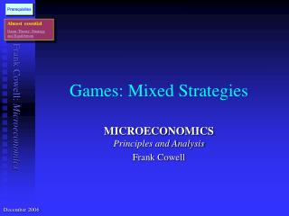 Games: Mixed Strategies