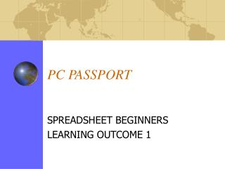 PC PASSPORT