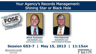 Your Agency's Records Management: Shining Star or Black Hole