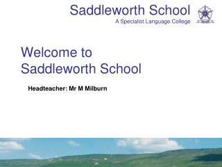 Welcome to  Saddleworth School