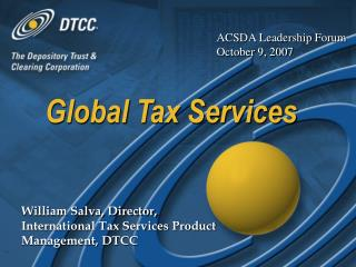 Global Tax Services