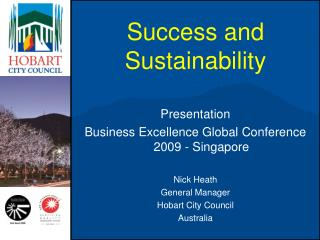 Success and Sustainability