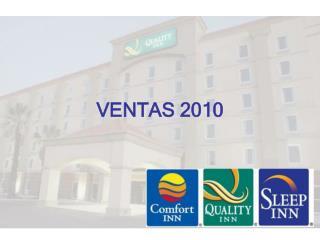 VENTAS 2010