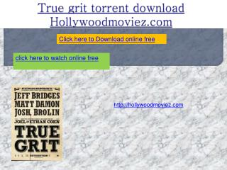 True grit torrent download