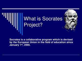 What is Socrates Project?