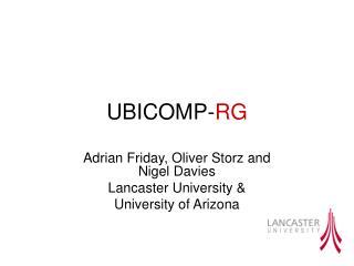 UBICOMP- RG