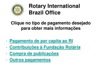 Rotary International Brazil Office