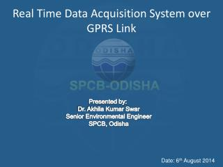 Real Time Data Acquisition System over GPRS Link