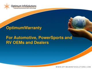 OptimumWarranty For Automotive,  PowerSports  and RV OEMs and Dealers