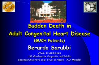 Sudden Death in  Adult Congenital Heart Disease  (GUCH Patients)