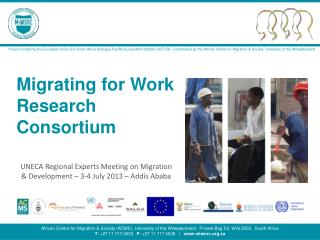 Migrating for Work Research Consortium